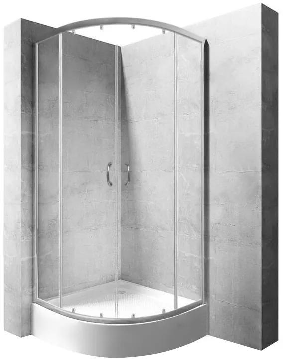 Sprchová kabína Rea Impuls Plus transparentná