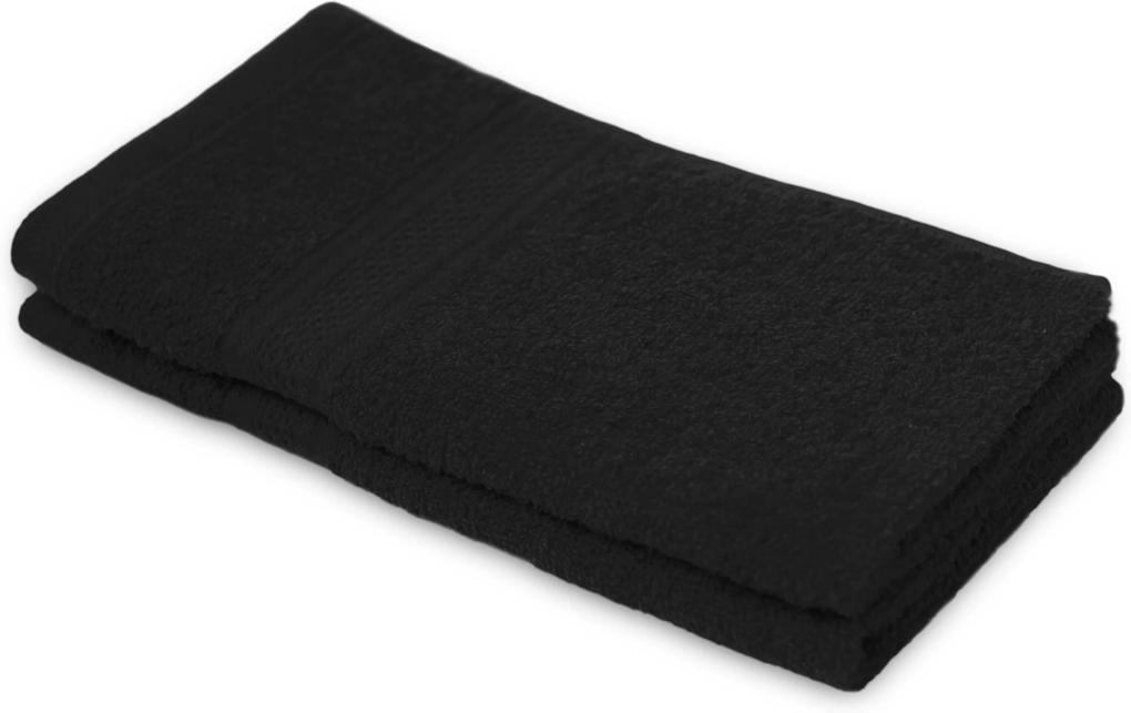 Detský uterák BAMBI čierny 30x50 cm