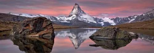 Fototapety, rozmer 368 x 127 cm, Matterhorn, Komar 4-322