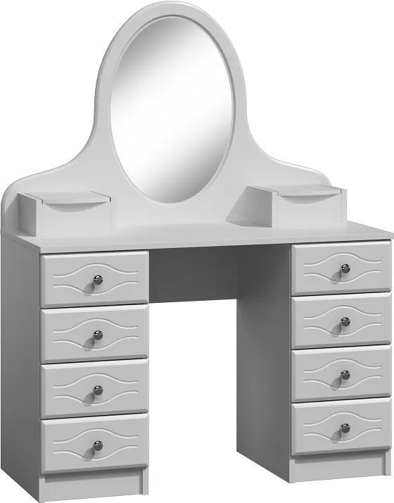 MAXMAX Toaletný stolík PINK