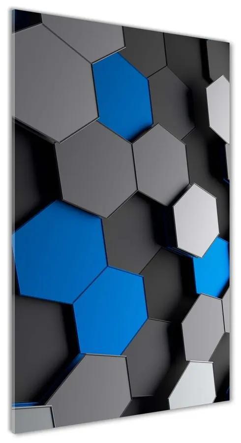 Foto obraz akrylový do obývačky Abstrakcie 3D pl-oa-70x140-f-83786712