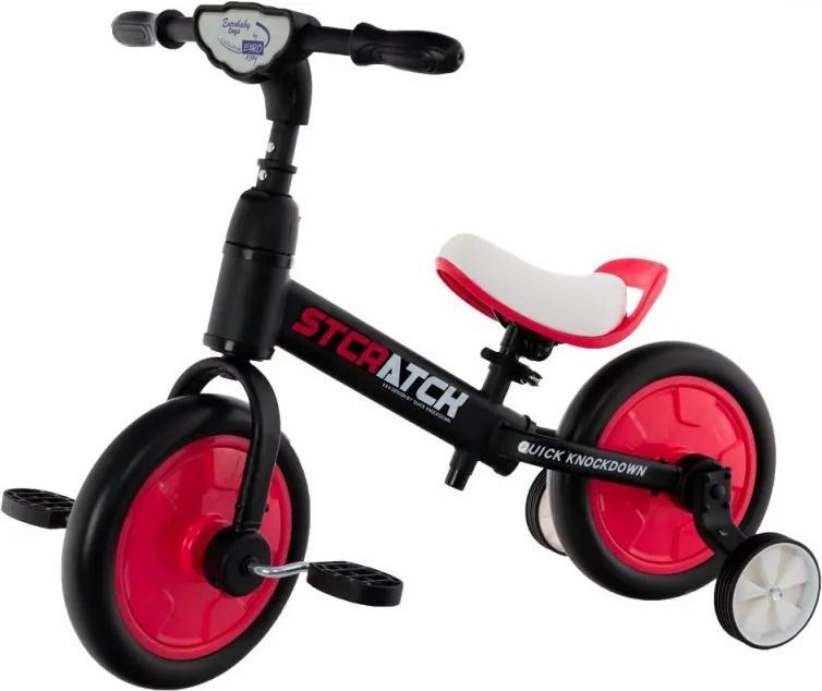 Odrážadlo/bicykel PLUS Euro Baby, pink