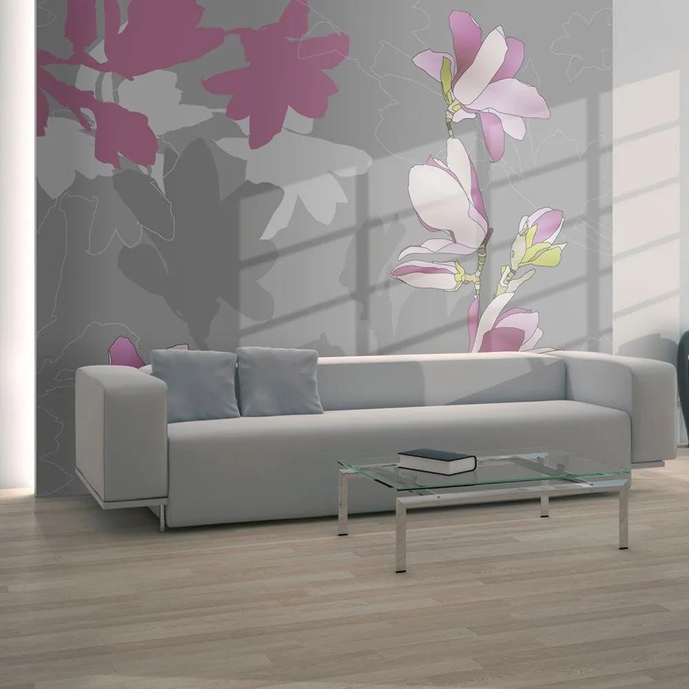 Fototapeta - magnolia (pink) 350x270