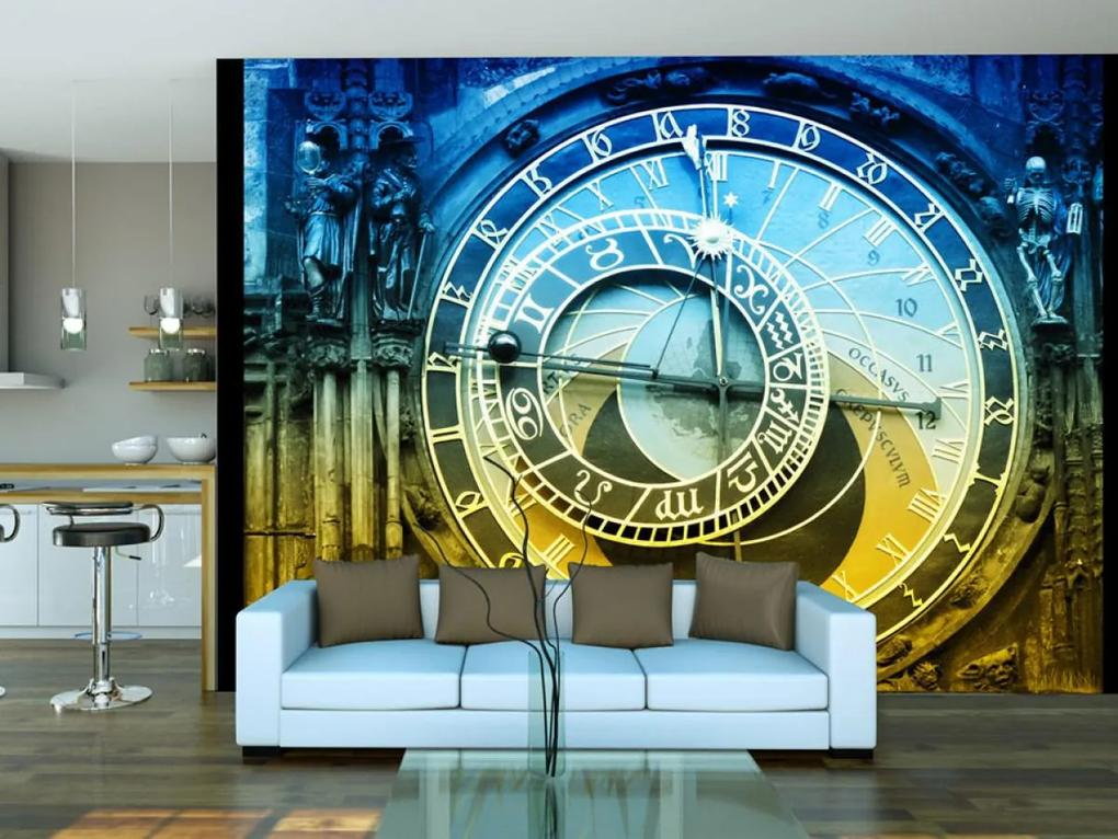 Murando DeLuxe Fototapeta - Pražský orloj 150x116 cm