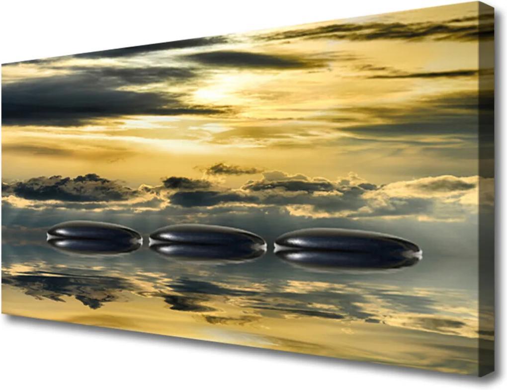Obraz na plátně Kamene Voda Umenie