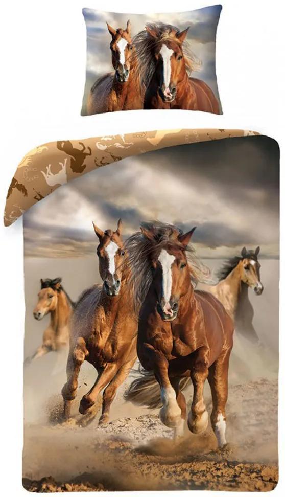 HALANTEX Obliečky kone stádo Bavlna 140 200 3c61a54abfa