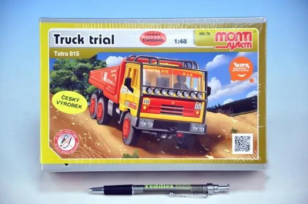 Vista Stavebnica Monti 76 Tatra 815 Truck Trial 1:48