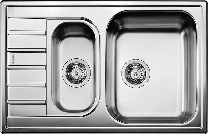 Nerezový kuchynský drez - Blanco LIVIT 6 S Compact nerez kartáčovaný 515117