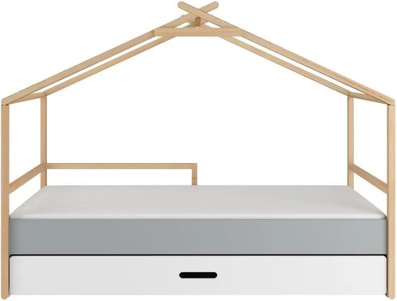 BE Detská posteľ domček Hudson 200x90 Joye