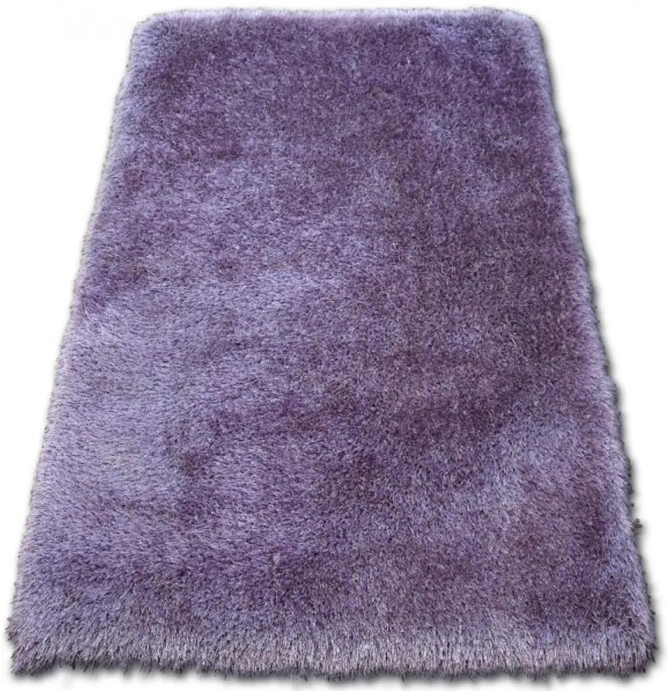 Luxusný kusový koberec Shaggy Love fialový, Velikosti 80x150cm