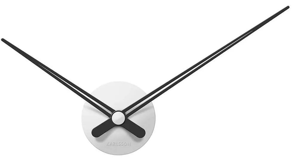 KARLSSON Nástenné hodiny LBT mini Sharp biele