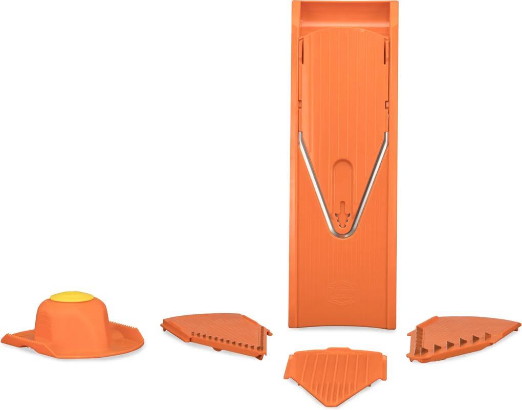 V-krájač Börner V1 ClassicLine Starter Set Farba: Oranžová