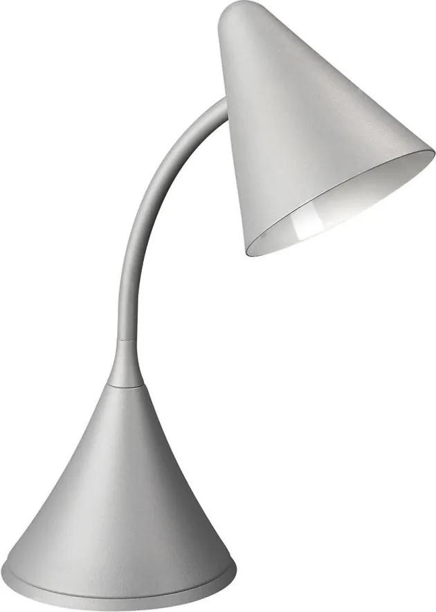 Philips Massive, 66236/87/10 - Stmievateľná stolná lampa BENNY G9 / 28W / 230V, sivá