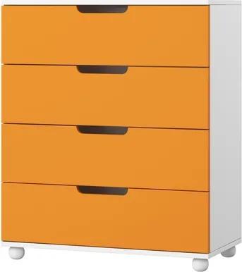 Komody do detskej izby Sleepy - 04 - Oranžová