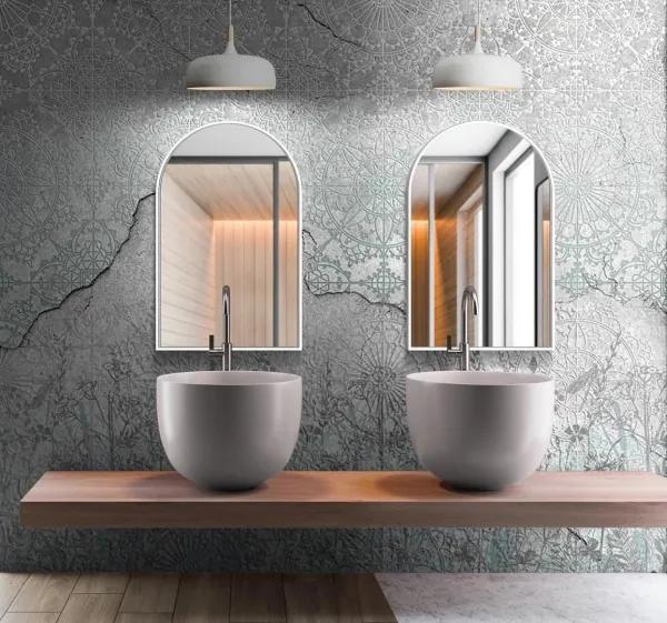 Zrkadlo Lede slim white z-lede-white-2613 zrcadla