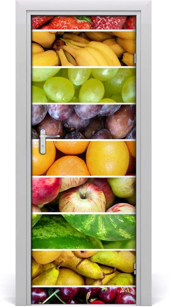 Fototapeta na dveře samolepící Barevné ovoce