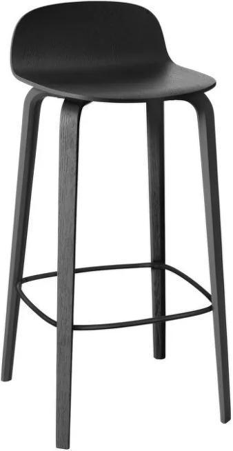 Muuto Barová stolička Visu 65 cm, black