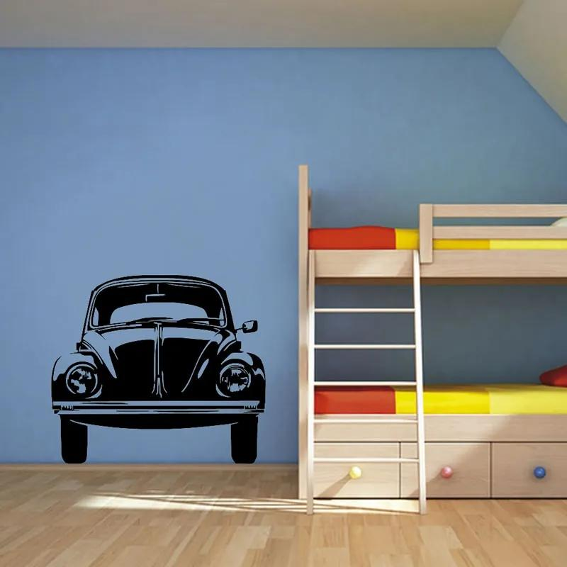 Vinylová samolepka na stenu, VW