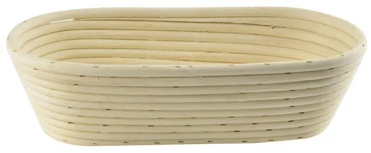 Ratanová ošatka na prípravu chleba oválna