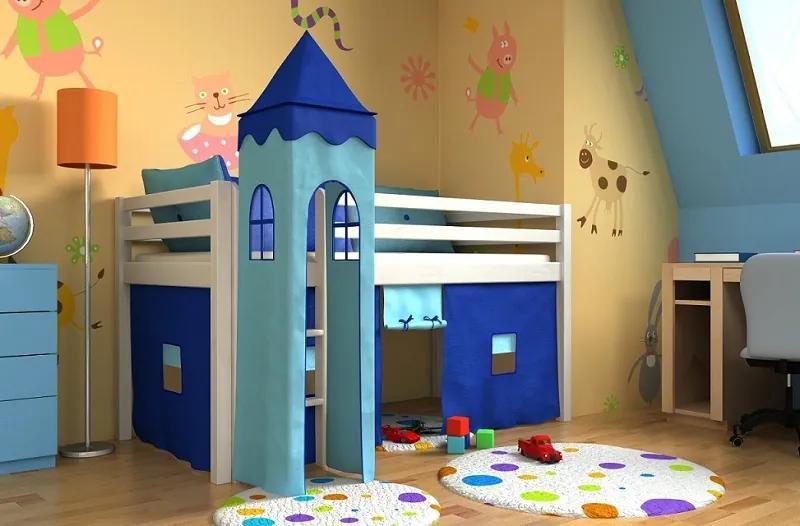 Bociek Veže k vyvýšeným posteliam modrá 2021