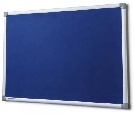 Textilná tabuľa SICO 150 x 100 cm modrá