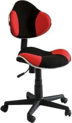 Detská stolička Sig304, červená