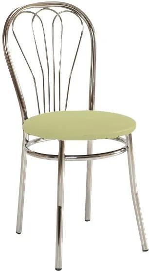 Najlacnejsinabytok V-1 jedálenská stolička, krémová