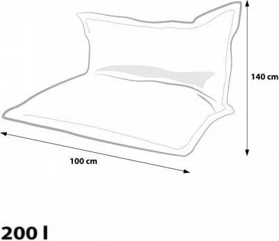 Ecopuf Sedací vankúš Ecopuf - Pillow MODERN KIDS polyester DG32/NC2