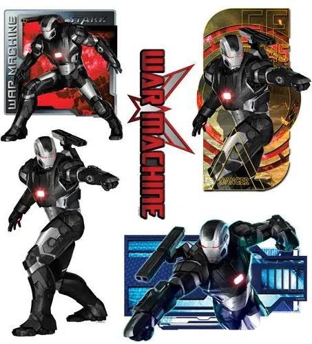 Samolepky na stenu, rozmer 30 x 40 cm, Iron Man SDC031, SUNNY DECOR