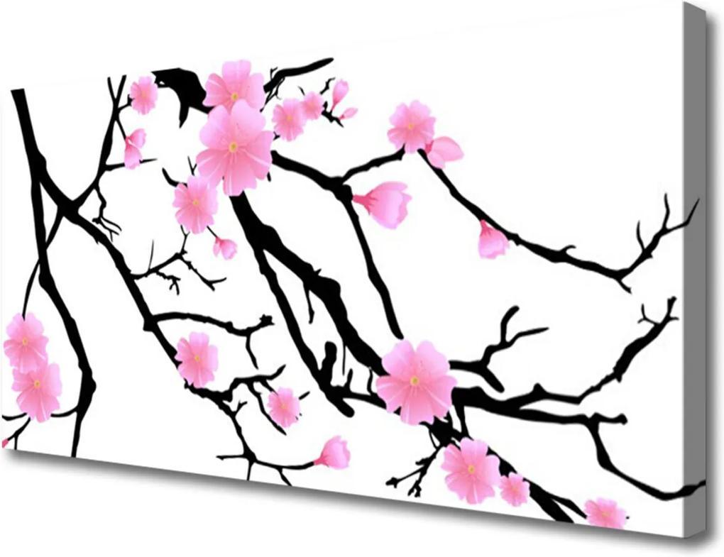 Obraz na plátně Stonky květiny umění