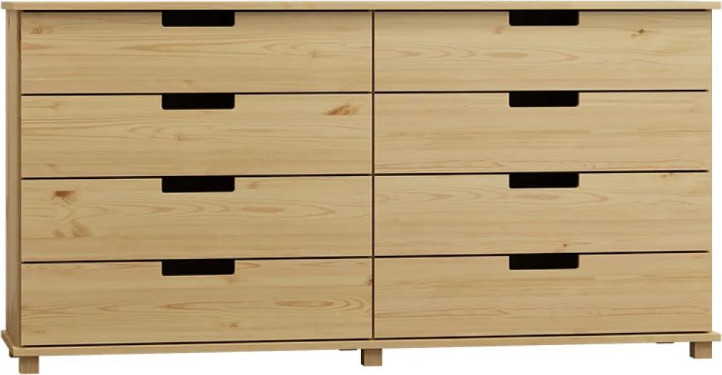 AMI nábytok Komoda Modern dub 180x100x42 cm