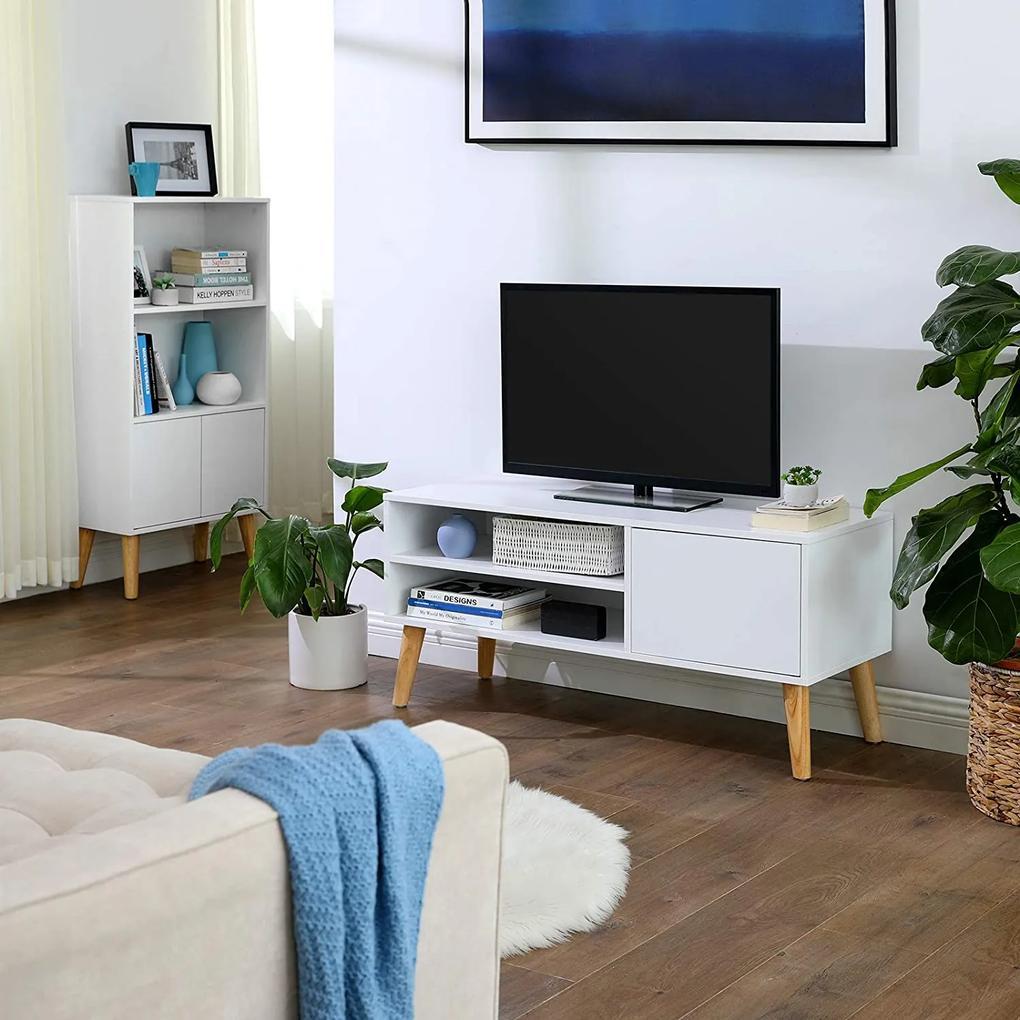 SONGMICS Televízny stolík škandinávsky dizajn 110 cm