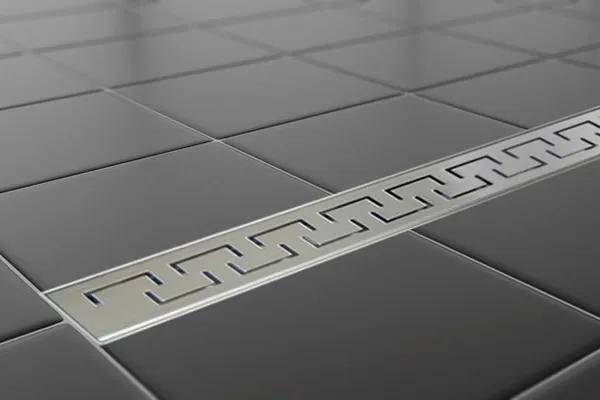 EURO Sprchový podlahový žľab 70 cm - GREEK M7003