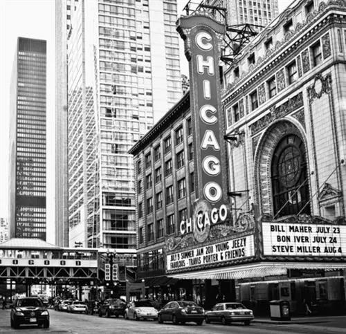 Luxusné vliesové fototapety, rozmer 279 cm x 270 cm, Chicago, P+S International CL36B