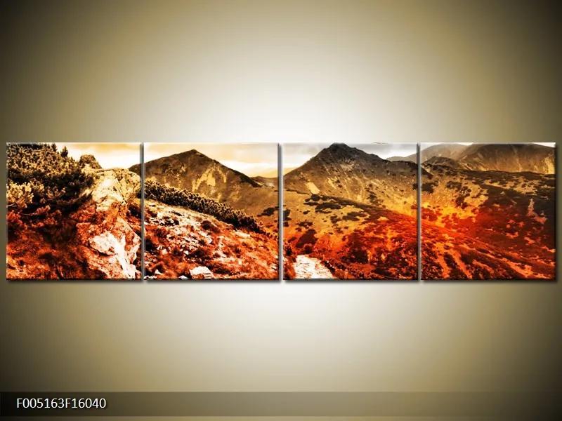Obraz zo štyroch dielov