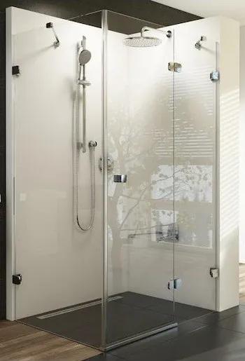 Sprchový kút Ravak Brilliant jednokrídlová 100 cm, sklo číre, chróm profil 0UPA0A00Z1