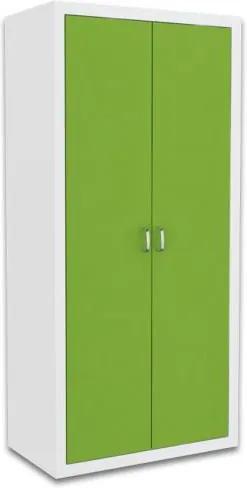 GL Jakub COLOR detská skriňa - zelená