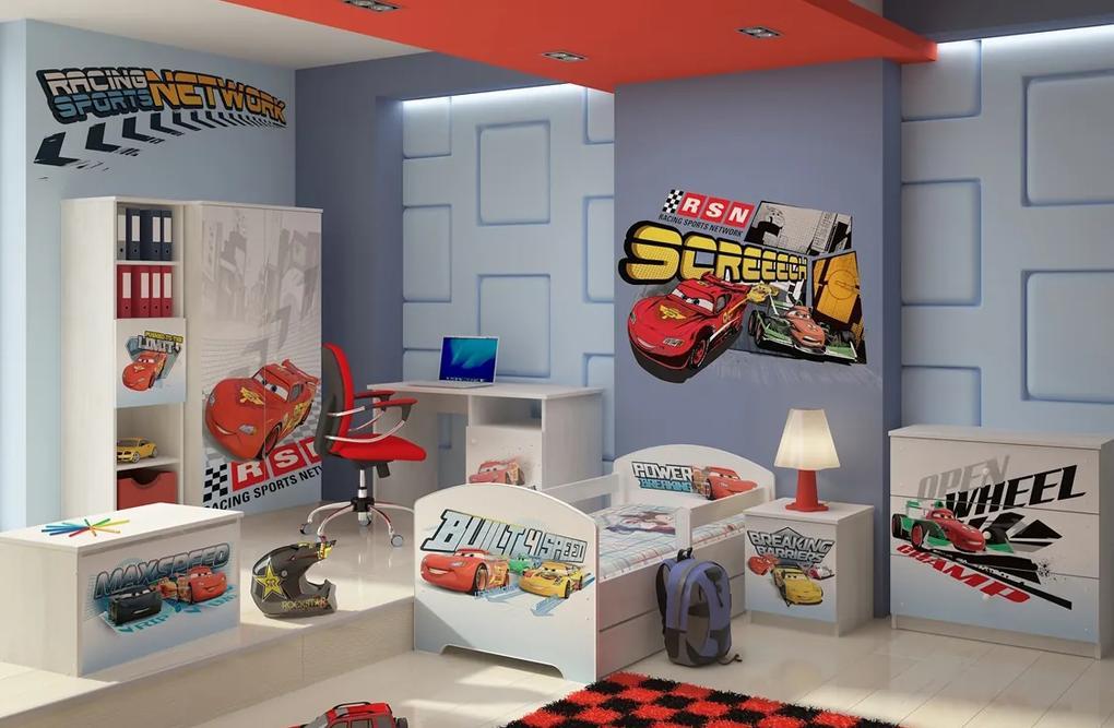 89fa4c002a3a DO Chlapčenská detská izba Disney Cars McQueen - 140x70 (3 ks)