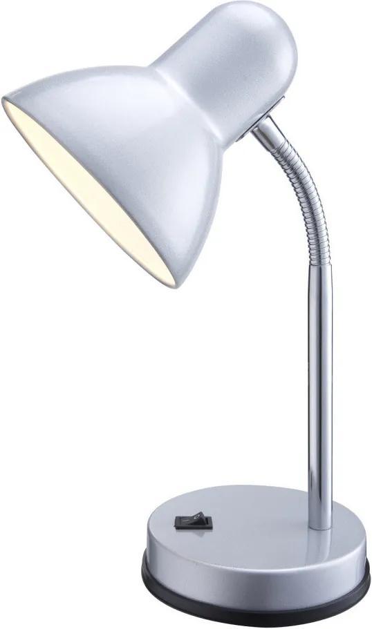 Globo 2487 Pracovné Stolné Lampy chróm strieborný 1 x E27 max. 40w 33 x 13 x 14,5 cm
