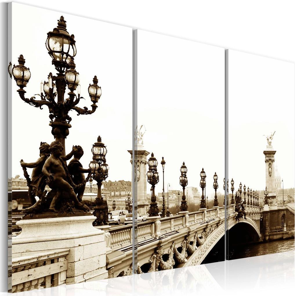 Obraz - A romantic walk in Paris 60x40