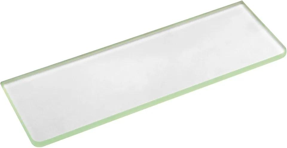 Sapho 22478 polica 200x100x8mm, mliečne sklo