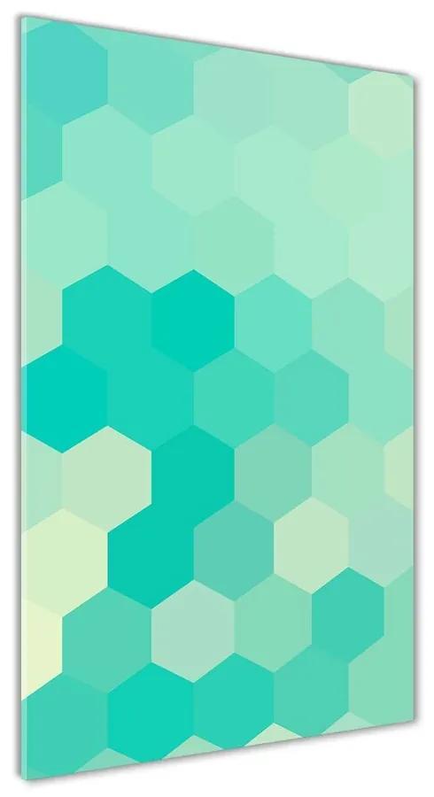 Foto obraz akrylové sklo Geometrické pozadie pl-oa-70x140-f-79451289