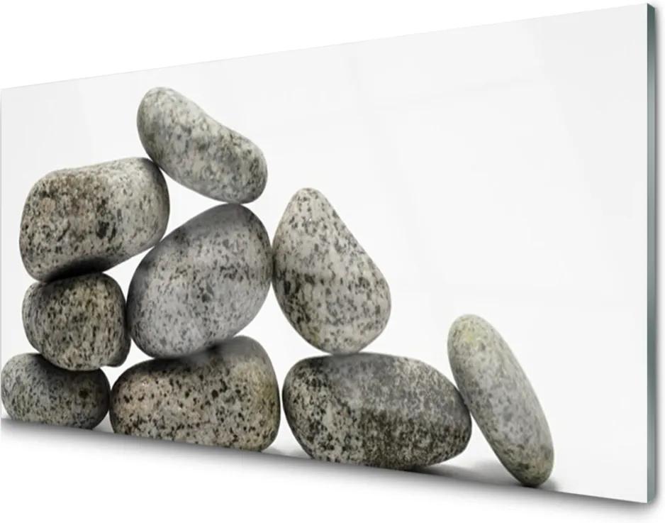 Skleněný obraz Skleněný kameny umění