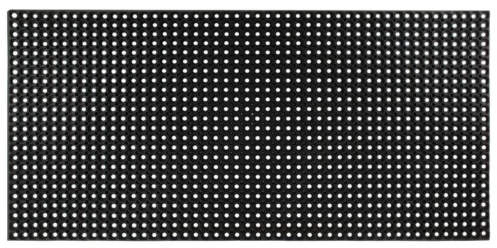vidaXL Gumená rohož 16 mm 100x150 cm