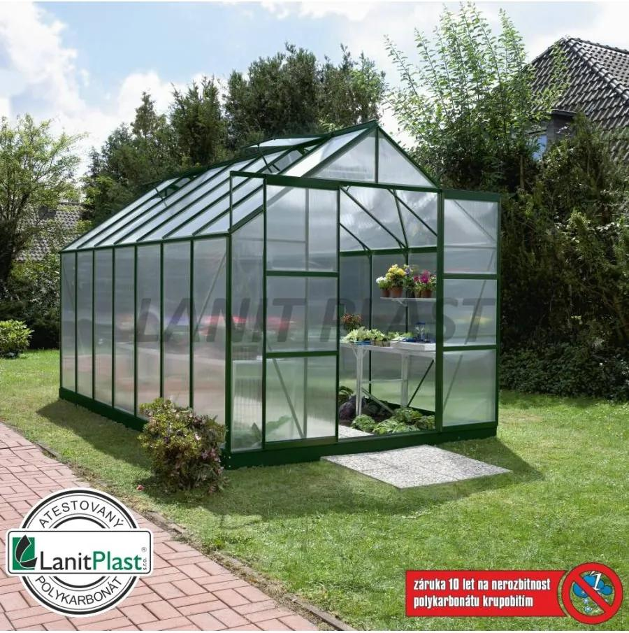 Vitavia Garden - skleník VITAVIA URANUS 11500 PC 4 mm zelený LG580