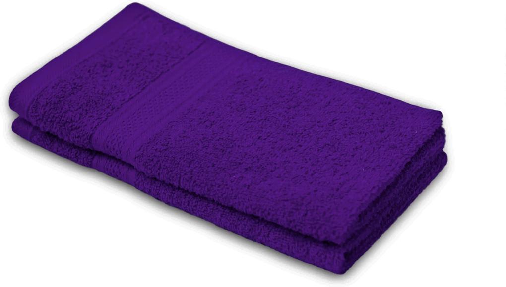 Detský uterák BAMBI tmavo fialový 30x50 cm
