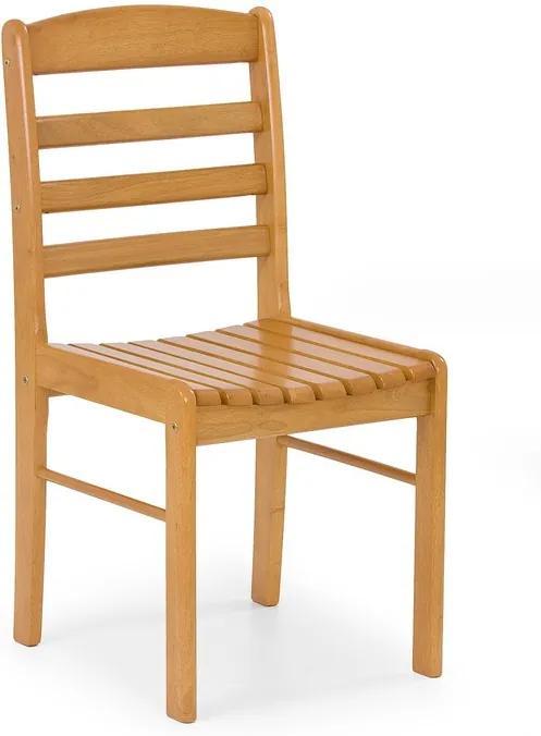 Dřevěná jídelní židle Bralin, olše