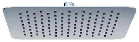 RAVAK CHROME 982.00 Hlavová sprcha štvorcová Slim, 300 mm X07P016
