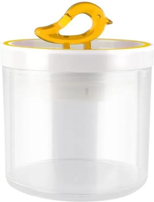 Žltá dóza Vialli Design Livio, 400 ml