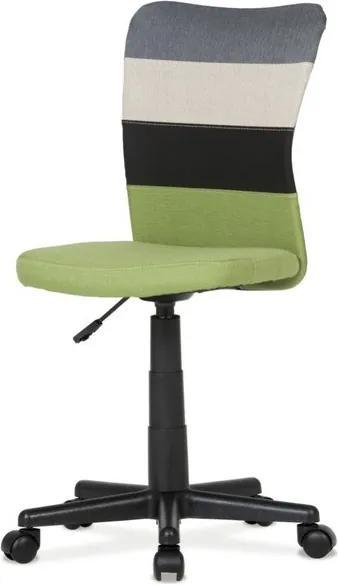 Sconto Otočná stolička IRWIN mix farieb zelená